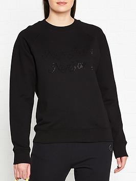 marc-jacobs-logo-stud-sweatshirt-black