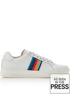 ps-paul-smith-lapin-rainbow-stripe-trainers-white