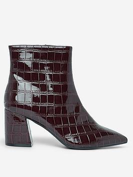 dorothy-perkins-dorothy-perkins-anicanbspcrocodile-textured-boots-burgundy