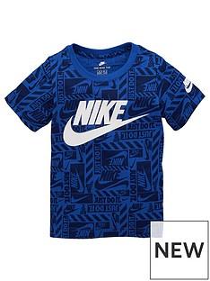 nike-sportswear-younger-boys-brand-toss-printed-t-shirt-royal-blue