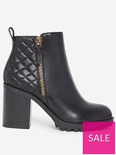 dorothy-perkins-dorothy-perkins-quilted-heeled-boots-black