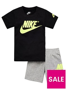 nike-sportswear-younger-boys-t-shirt-andnbspfrench-terry-shorts-set-dark-grey-heather