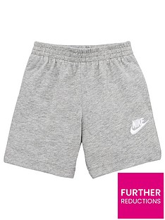 nike-sporstwear-clubnbspyounger-boys-jersey-shorts-dark-grey-heather
