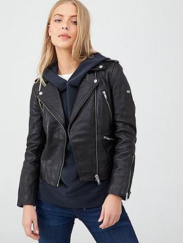 superdry-long-sleeve-essentials-biker-jacket-black