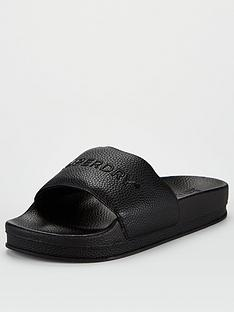 superdry-arizona-high-build-flatform-slides-black