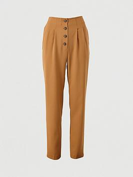 v-by-very-button-front-slim-trousers