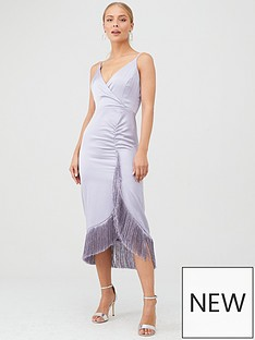 river-island-river-island-fringed-slip-midi-dress-blue