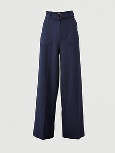v-by-very-buckle-detail-wide-leg-trousers-navy