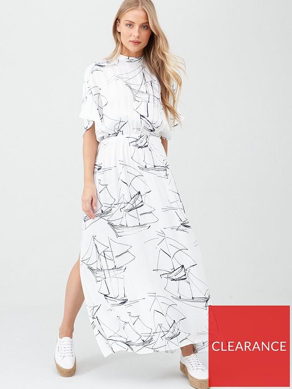 Edit Maxi Dress White