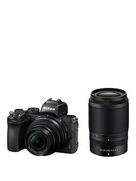 nikon-z50-mirrorless-digital-camera-withnbspnikkor-z-dx-50-250mm-f45-63-vr-amp-nikkor-z-dx-16-50mm-f35-63-vr-lenses