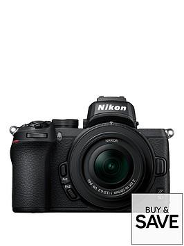 nikon-z-50nbspcameranbspamp-nikkor-z-dx-16-50mm-f35-63-vr-lens-ftz-mount-adapter-kit