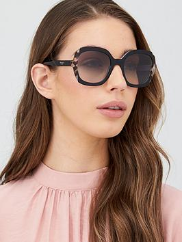 prada-oversize-sunglasses-black-azurespotted-brown