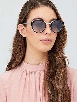 prada-round-sunglasses-blackivorysilver