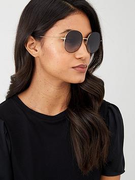 dolce-gabbana-round-sunglasses-goldblack