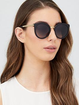 dolce-gabbana-round-sunglasses-black