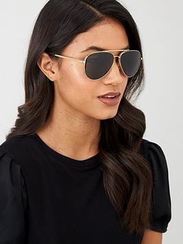 versace-aviator-sunglasses-gold