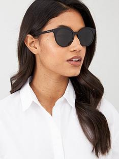 prada-round-sunglasses-black
