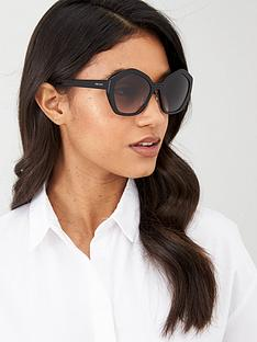 prada-hexagonalnbspsunglasses-black