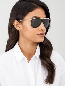 ray-ban-olympian-aviator-sunglasses-black