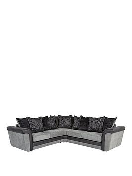 manhattan-fabric-and-faux-snakeskin-scatter-back-corner-group-sofa