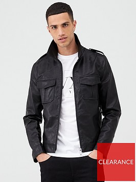 river-island-smart-western-black-faux-leather-jacket