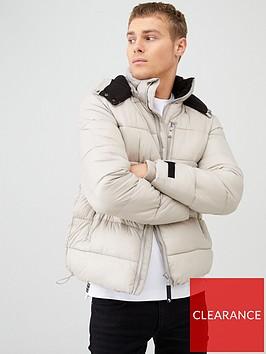 river-island-grey-maison-riviera-tape-padded-jacket