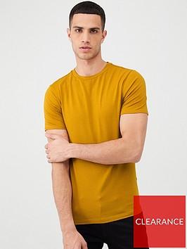 river-island-muscle-fit-short-sleeve-t-shirt-orange