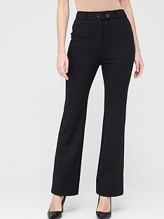 v-by-very-valuenbspponte-bootcut-trousers-black