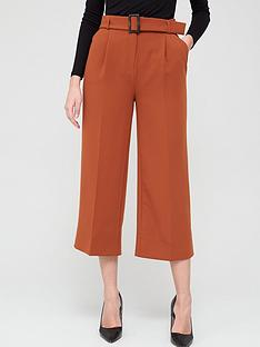 v-by-very-wide-leg-belted-crop-trousers-rust