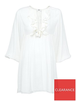 v-by-very-ruffle-tasselnbsptunic-white