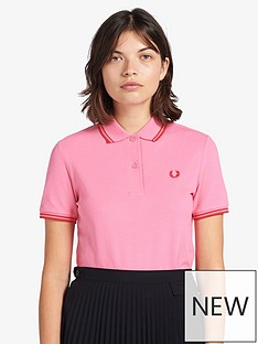 fred-perry-twin-tippednbspshirt-pink