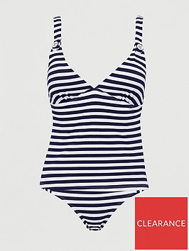 v-by-very-shapewear-textured-stripe-mid-rise-brief-navy-white-stripe