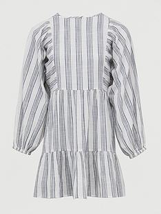 v-by-very-tiered-cotton-mini-beach-dress