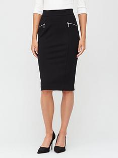 v-by-very-the-zip-workwear-midi-black