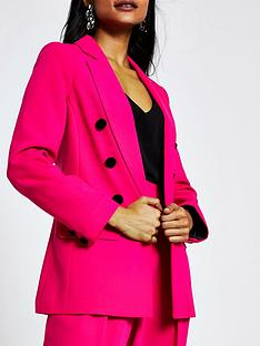 ri-petite-double-breasted-blazer-pink