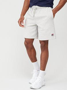 fila-vico-peached-fleece-shorts-grey