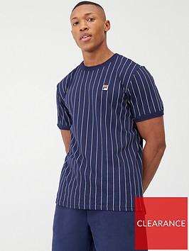 fila-guilo-stripe-tee-triple-binding-t-shirt-navywhite