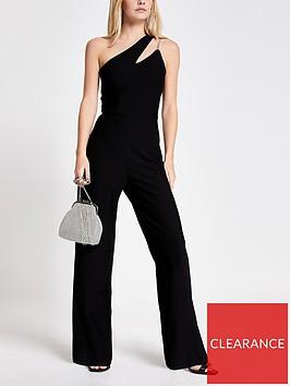 ri-petite-ri-petite-one-shoulder-wide-leg-jumpsuit--black