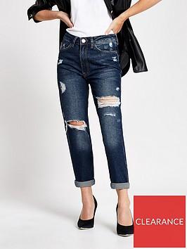 ri-petite-dark-denim-ripped-mom-jeans-mid-authentic