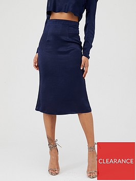 in-the-style-in-the-style-x-laura-jade-satin-midi-skirt-navy