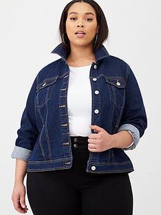 v-by-very-curve-denim-jacket-dark-wash