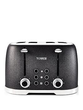 tower-glitz-1600w-4-slice-toaster-black