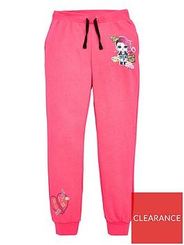 lol-surprise-girls-glitter-detail-joggers-pink