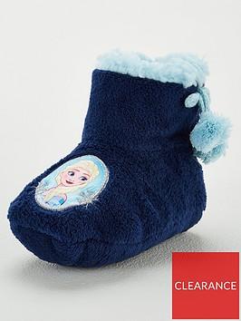 disney-frozen-girls-frozen-cosy-slipper-booties-navy