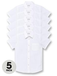 v-by-very-girls-5-pack-short-sleeve-school-blouses-white