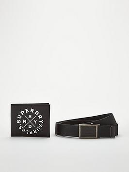 superdry-superdry-wallet-and-belt-gift-surplus-set