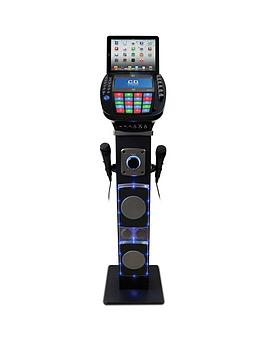 easy-karaoke-easy-karaoke-bluetooth-system-with-speaker-pedestal