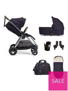 mamas-papas-flip-xt3-6-piece-bundle-pushchair-carrycot-adaptors-cupholder-bag-footmuff