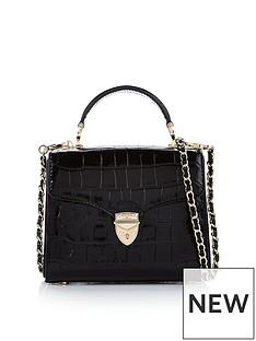 aspinal-of-london-midi-mayfair-patent-croc-cross-body-bag-black