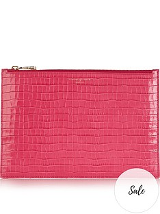 aspinal-of-london-patent-croc-large-essential-flat-pouch-pink